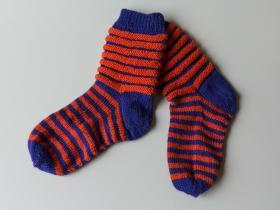 Sokker i to farver
