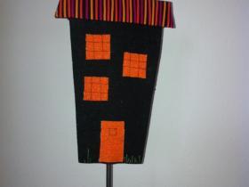 hus på pind patchwork