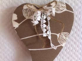 Hjerte - patchwork